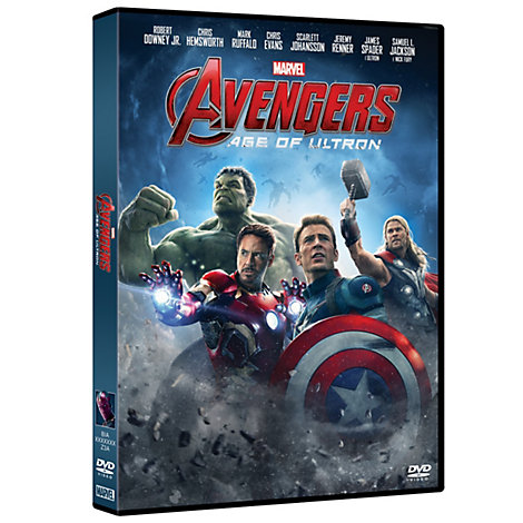 Marvel, Avengers: Age of Ultron, DVD