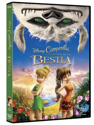 Campanilla Y La Leyenda De La Bestia, DVD