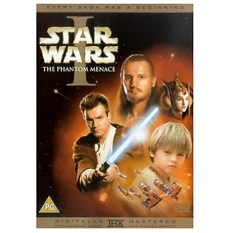 Star Wars: Episode I - The Phantom Menace DVD
