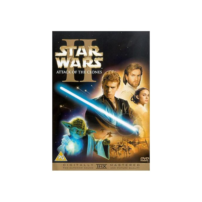 Star Wars: Episode II - Attack of the Clones DVD