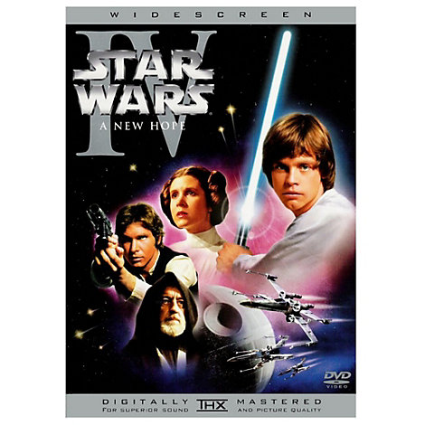 Star Wars IV - A New Hope DVD