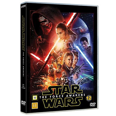 Star Wars: The Force Awakens, DVD