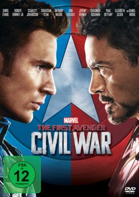 The First Avenger: Civil War DVD