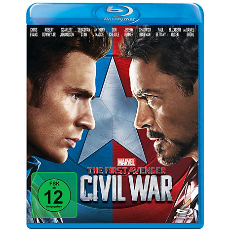The First Avenger: Civil War Blu-ray