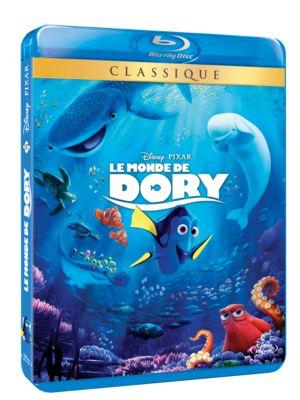 Le Monde de Dory Blu-ray