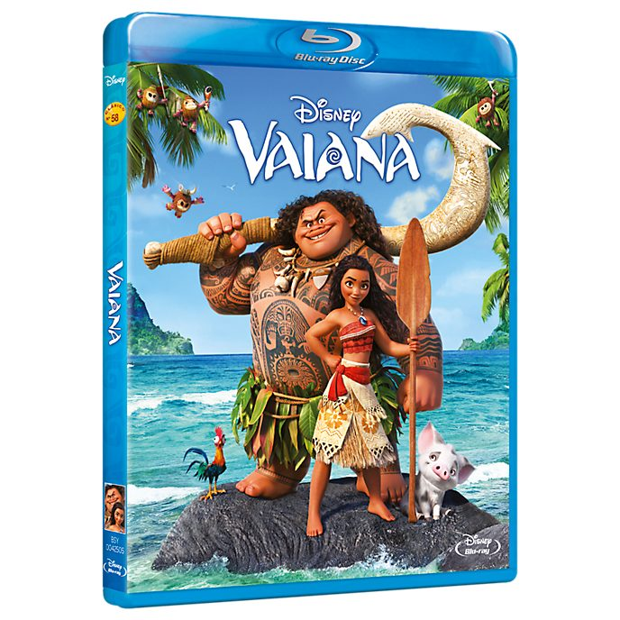 Vaiana Blu-ray