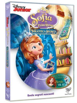 Sofia la Principessa: La Biblioteca Segreta DVD