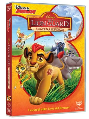 Lion Guard: Scatena la Forza DVD