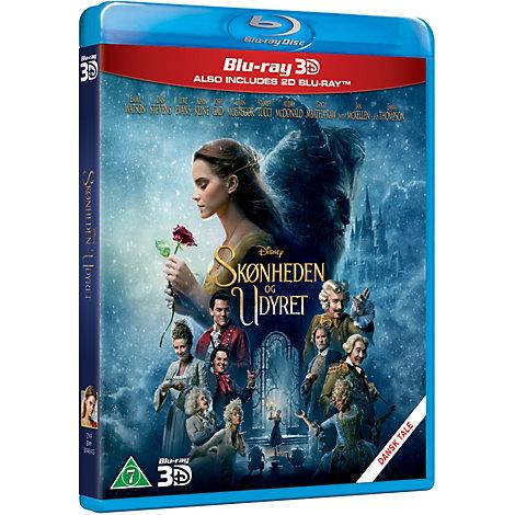 Skønheden of Udyret 3D Blu-ray