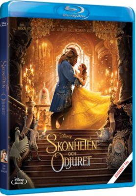 Skönheten och Odjuret Blu-ray