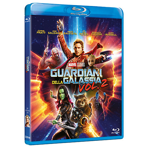 Guardiani della Galassia Vol. 2 Bluray