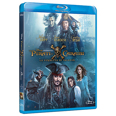 Pirati dei Caraibi, La Vendetta di Salazar Blu-ray