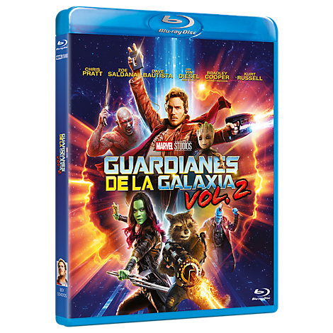 Guardianes de la Galaxia Vol.2 Bluray