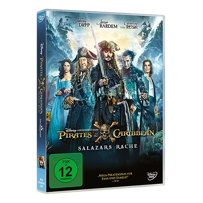 Pirates of the Caribbean: Salazars Rache DVD