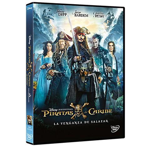 Piratas del Caribe La venganza de Salazar DVD