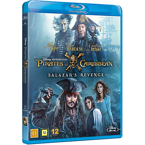 Pirates of the Caribbean: Salazar's Revenge Blu-ray