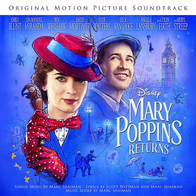 Mary Poppins Returns Original Soundtrack CD