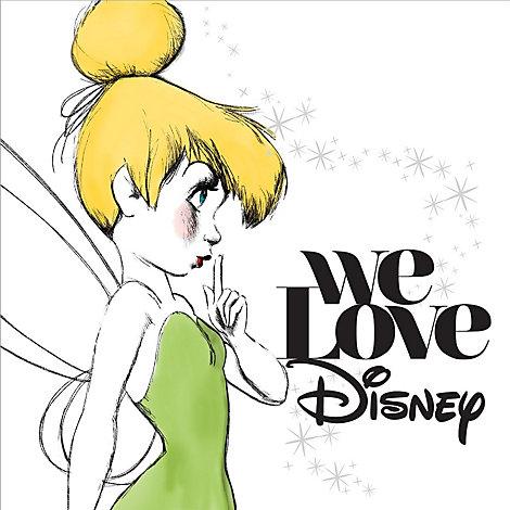 We Love Disney CD