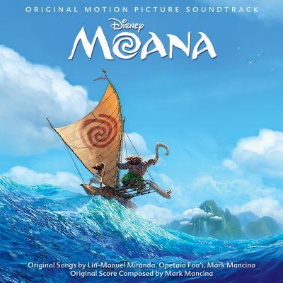 Moana Soundtrack CD