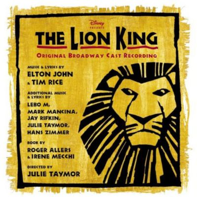 The Lion King Musical Soundtrack CD