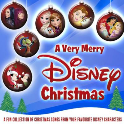 A Very Merry Disney Christmas CD