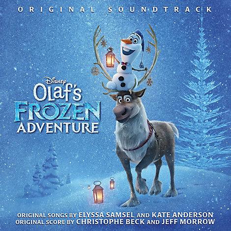 Olaf's Frozen Adventure CD Soundtrack