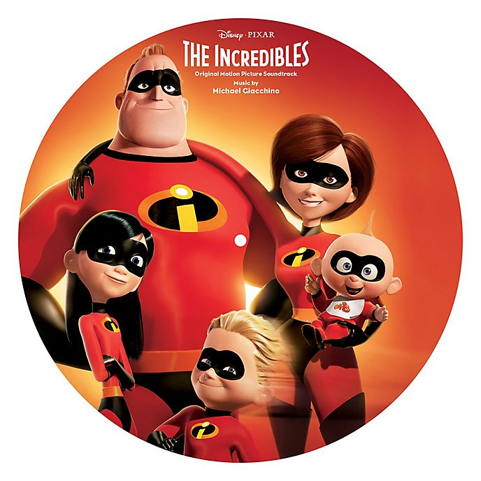 The Incredibles Picture Disc Vinyl