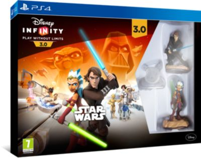 Pack de démarrage PlayStation 4, Disney INFINITY 3.0 : Star Wars