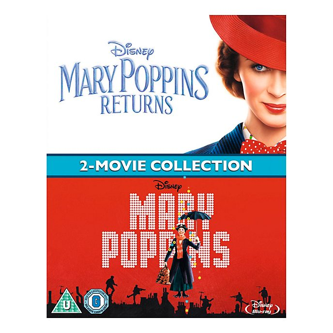 Mary Poppins/Mary Poppins Returns Blu-ray Double Pack