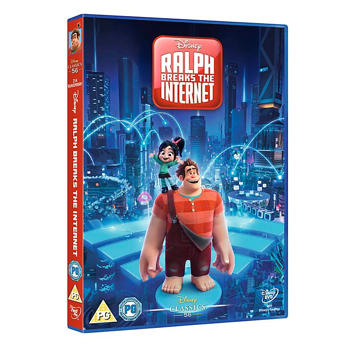 Ralph Breaks The Internet DVD
