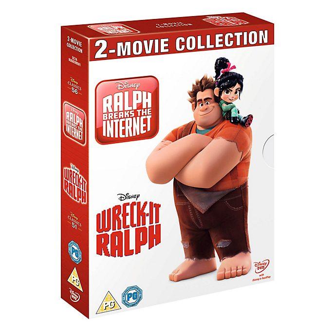 Wreck-it Ralph/Ralph Breaks The Internet DVD Double Pack