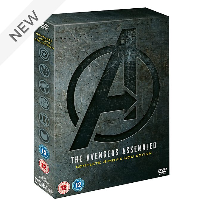 Avengers: 1-4 Complete DVD Boxset