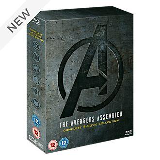 Avengers: 1-4 Complete Blu-ray Boxset