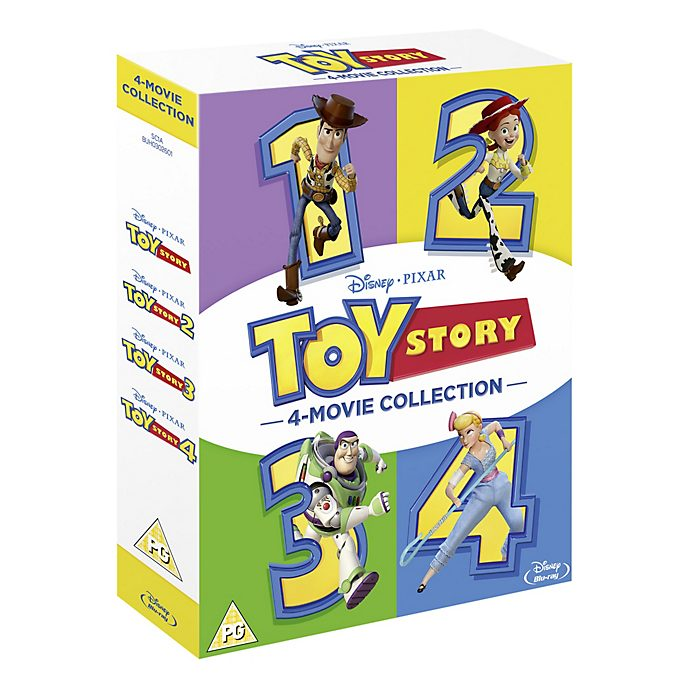 Toy Story 1-4 Complete Blu-ray Boxset