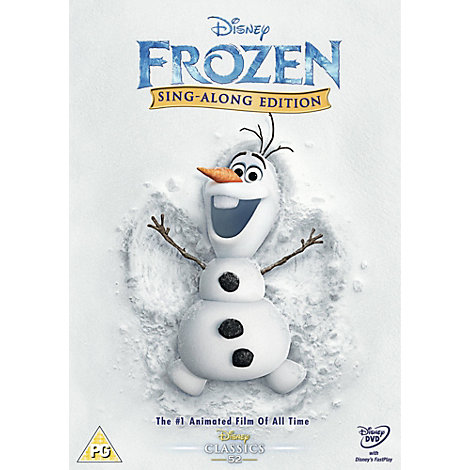 Frozen Sing-a-long Edition DVD