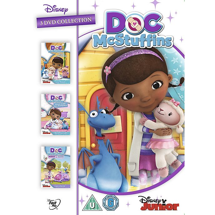 Doc McStuffins 3 DVD Collection