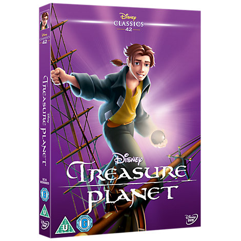 Treasure Planet DVD
