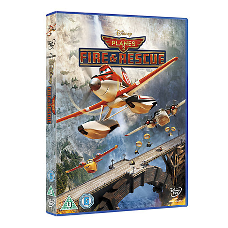 Planes 2 Fire & Rescue DVD