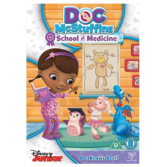 Doc McStuffins - School of Medicine DVD