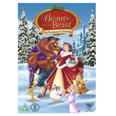 Beauty and the Beast - The Enchanted Christmas DVD