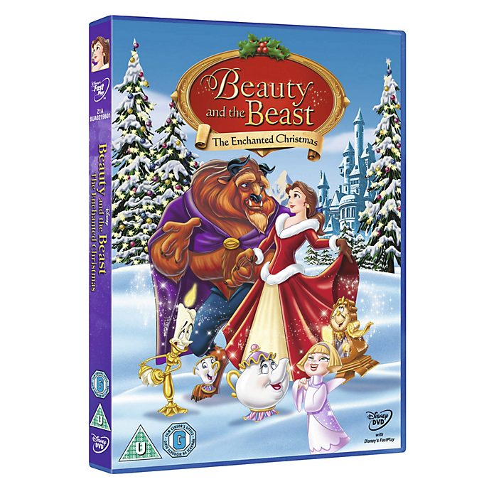 Beauty And The Beast Christmas.Beauty And The Beast The Enchanted Christmas Dvd