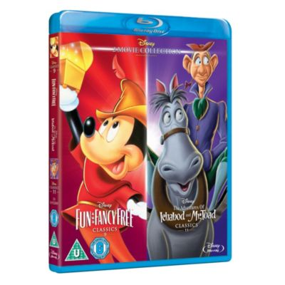 Fun & Fancy Free / Ichabod and Mr Toad Blu-ray