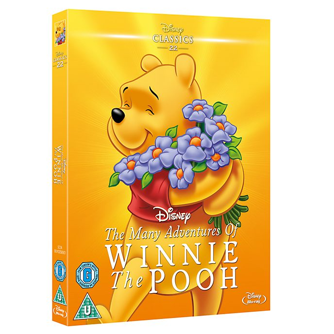 Many Adventures of Winnie the Pooh Blu-ray