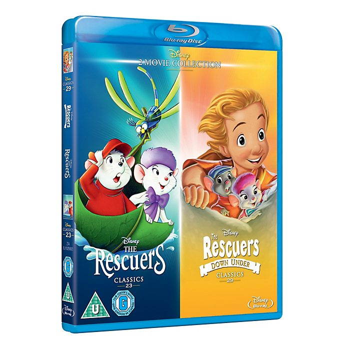 The Rescuers / The Rescuers Down Under Blu-ray