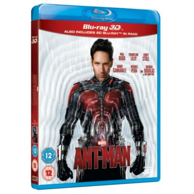 Ant Man 3D Blu-ray