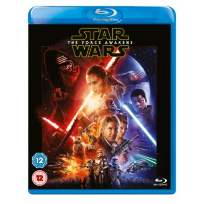 Star Wars: The Force Awakens Blu-ray with Dark Side Limited Edition Sleeve