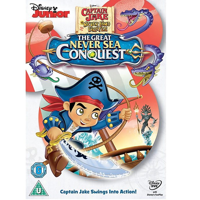 Captain Jake and the Neverland Pirates: The Great Never Sea Conquest DVD