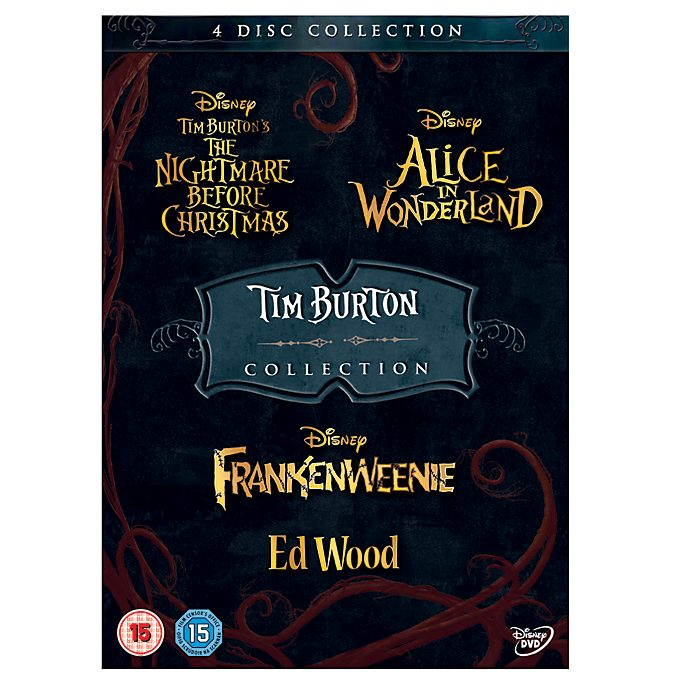 Tim Burton 4 Movie DVD Collection
