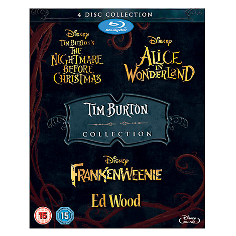 Tim Burton 4 Movie Blu-ray Collection