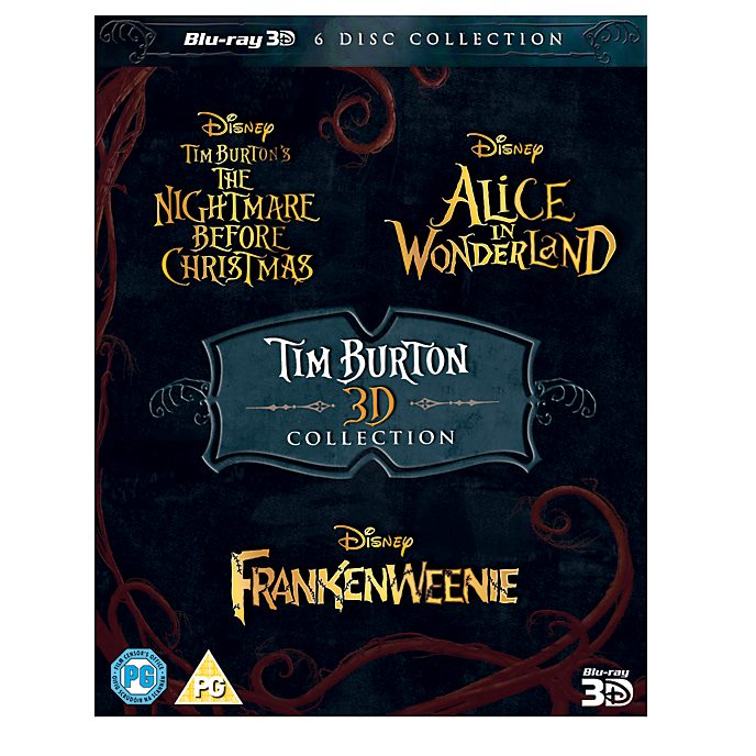 Tim Burton 3 Movie 3D Blu-ray Collection